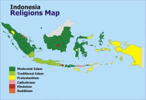 Religious Map Of Indonesia